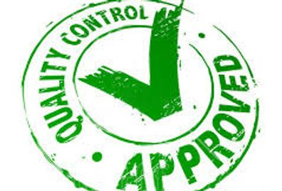 quality control approved logo