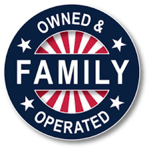 family owned and operated logo