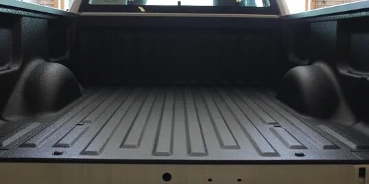 sprayed bedliner truck bed