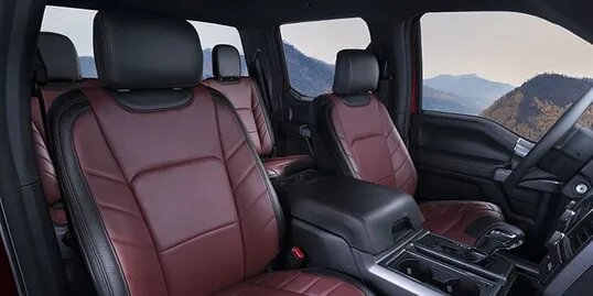 inside of car leather seat covers